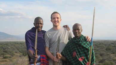 Hanging with the Tribesmen in Tanzania